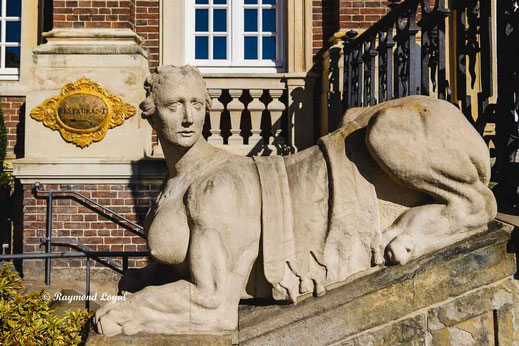 nordkirchen palace sphinx