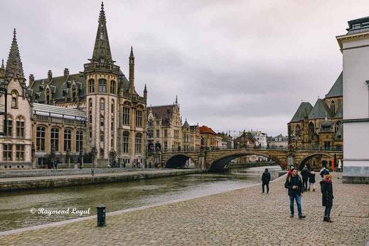 Graslei Gent Belgium