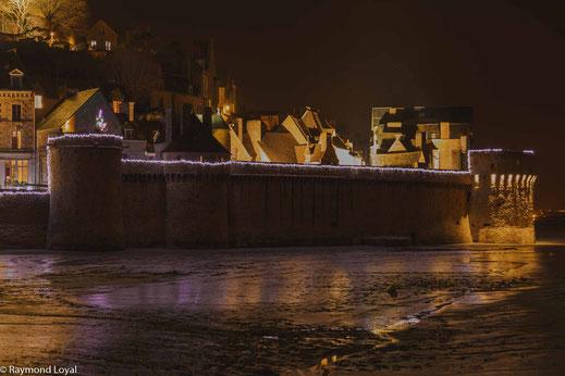 mont saint-michel long-exposure image