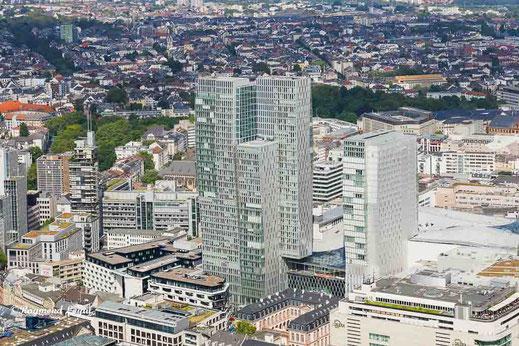 frankfurt innenstadt high angle view