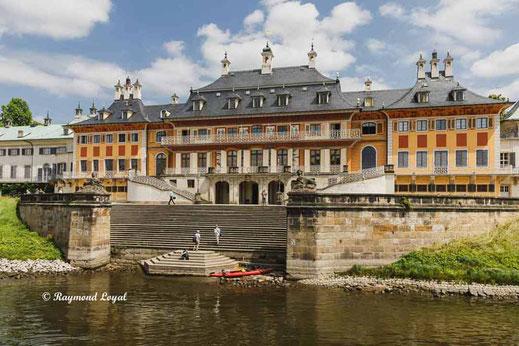 Pillnitz castle saxony