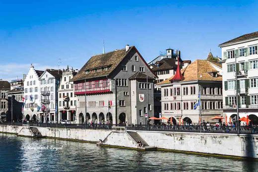 zurich city centre old town image