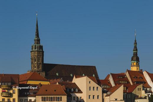 bautzen mittelalterliche stadt