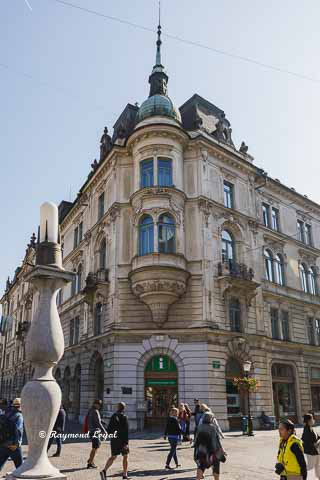 Ljubljana architecture photography