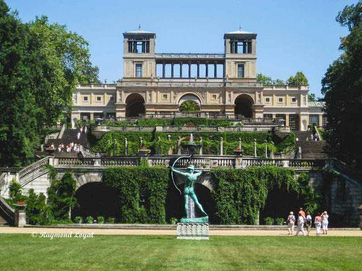 apollon the archer orangery palace at sanssouci