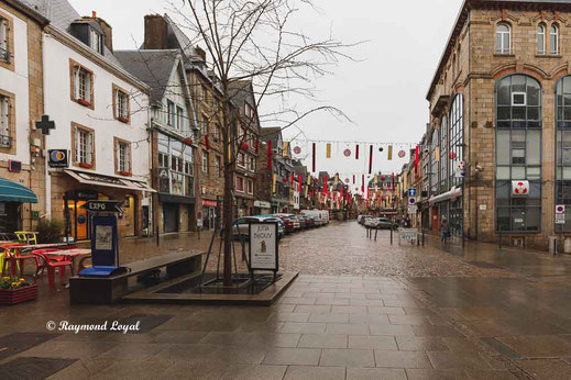 lannion old town france