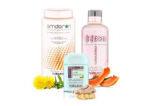 AMDORON und DIOLUXSAN für Magen, Darm & Verdauung