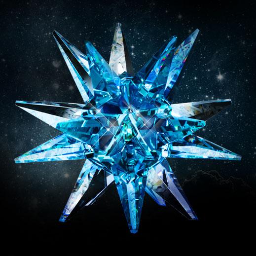Crystal, Star, Universe, Design