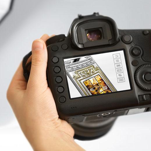 Produktfotografie, Coin
