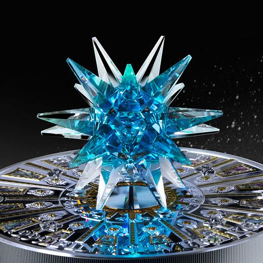 Crystal, Coin, Produktfotografie, Bildbearbeitung
