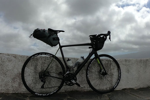 Cannondale Synapse Carbon, Gran Canaria, Berghuhn