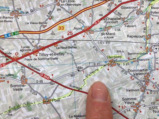 Routenplanung mit der Papierkarte