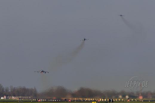 Britische Tornados am Start in Leeuwarden