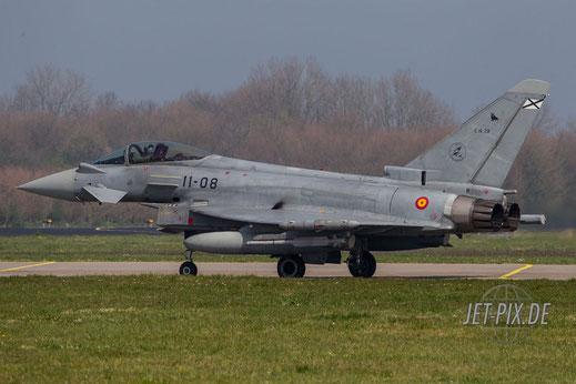 Leeuwarden spanischer Eurofighter