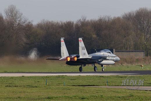 F15 ist am hämmern