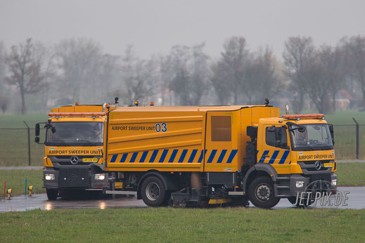 Airport Sweeper Unit