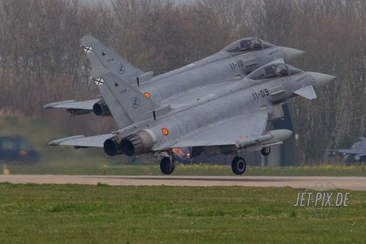 Leeuwarden spanische Eurofighter