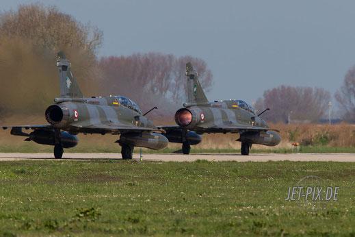 Start von französischen Mirage Leeuwarden