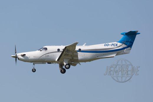 OO-PCK Pilatus PC12 NG 2017 04 29 ZRH