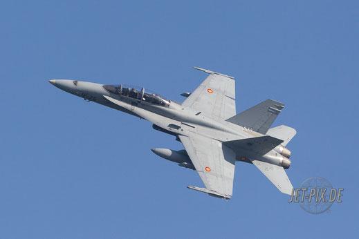 Spanische F18 beim Banking Leeuwarden