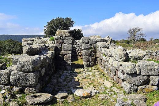 Santuario nuragico Santa Vittoria a Serri