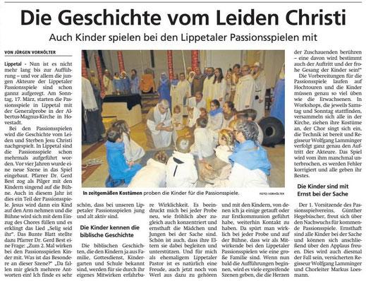 Bericht Soester Anzeiger vom 14.03.2019