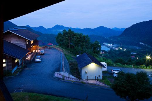 眺望抜群。赤崎荘からの風景【かのせ温泉 赤崎荘】