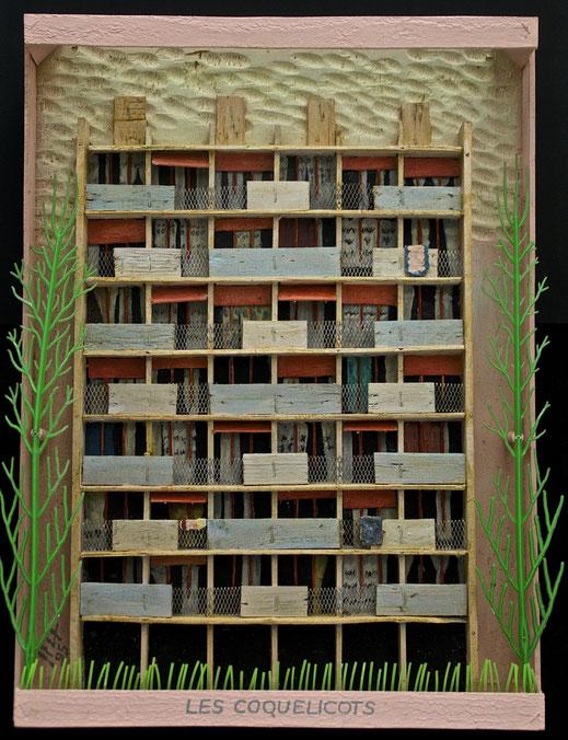 Les Coquelicots, Format 46 x 62