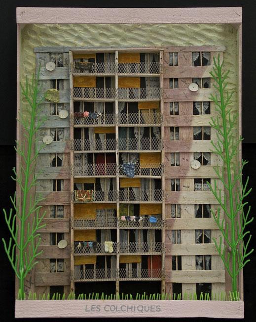 Les Colchiques, Format 46 x 62