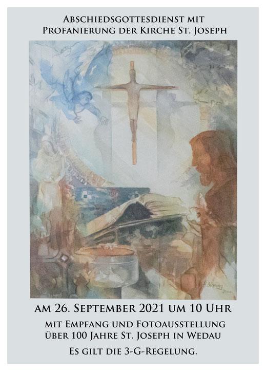 Abschiesgottesdienst St. Joseph, Duisburg-Wedau