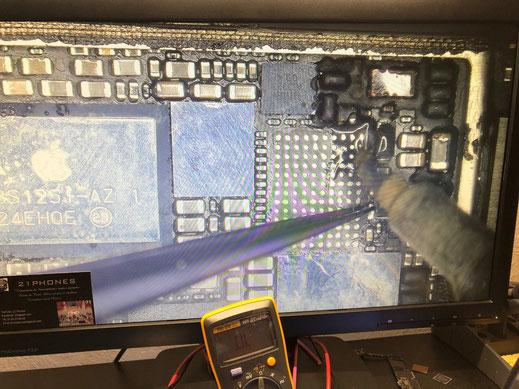 Spécialiste Micro Soudure iPhone ( Réparation carte mère iPhone)Toulouse