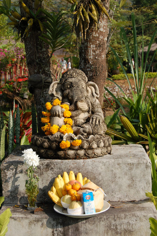 Bild: privat, Ganesha- Elefantengott, - Glücksbringer der Hindus