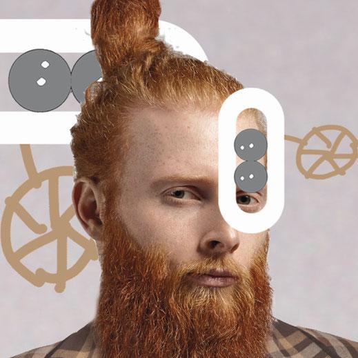 Video Lensbix Kontaktlinsenbehälter cappuccino