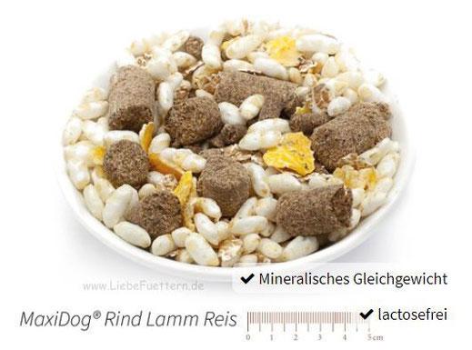 Hunde Trockenfutter von Reico MaxiDog Rind Lamm Reis