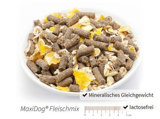 Reico Trockenfutter MaxiDog Fleischmix für Hunde.