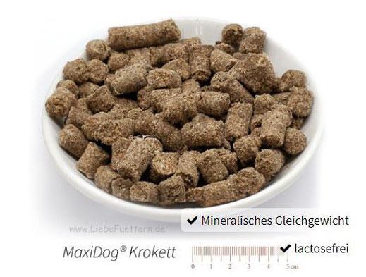 Trockenfutter für Hunde von Reico Vital MaxiDog Krokett
