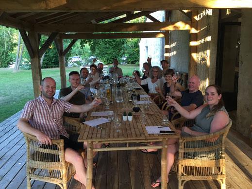 Bergerac wine tasting