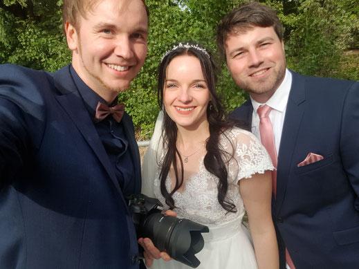 Hochzeitsfotograf Berlin Eberswalde Brautpaar Landhof Liepe
