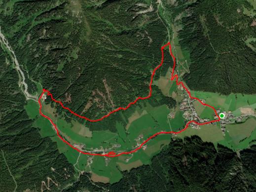 Gesundheitswege Weißenbach - Bewegungsweg