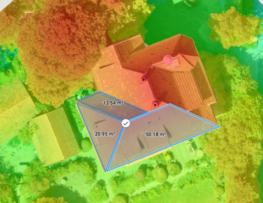 Wertgutachten Unterstützung mit Luftbildern