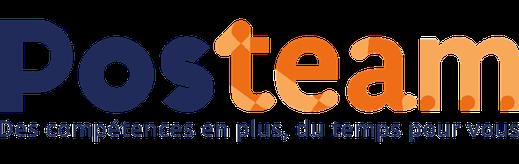 logo de posteam, entreprise de travail à temps partagé à Melle 79500