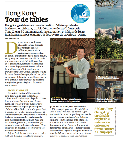 Article tourisme sur Hong Kong (Forbes Afrique) — Traduction Julia H. Prevost (The Write Thing)