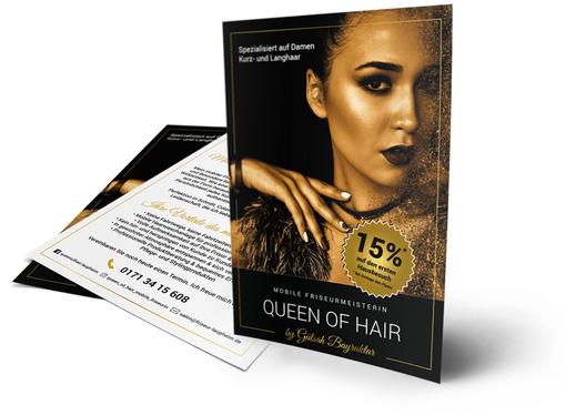 Beautydesign und Beautywerbung für Beautyunternehmen