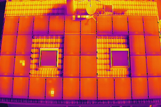Thermografiesche Inspektion von PV-Anlagen