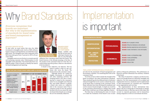 Expert article, Dr. Gerhard Hrebicek, European Brand Institute, Brand Standards, Brand Global Council