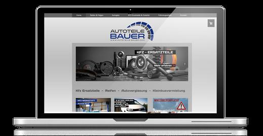 bild: webdesign referenzen von website4everyone autoteilebauer
