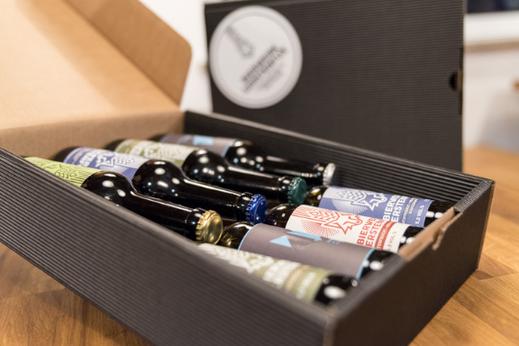 Das Bier Geschenkset vom Bierwerk Gerstenfux ist auch Online erhältlich.