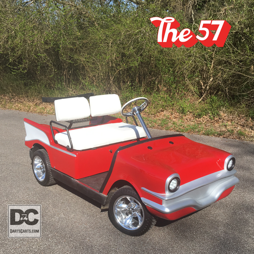 CUSTOM 57 GOLF CART