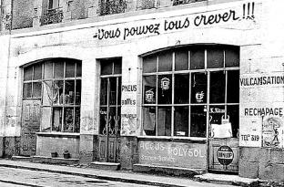 Slogan du garage Miran à Auray (56) : << Vous pouvez tous crever.  Miran est là pour vous réparer ! >> | letelegramme.fr