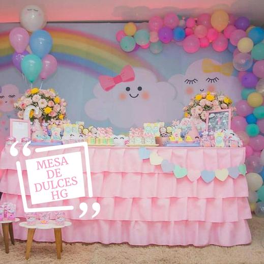 mesa de dulces para niña